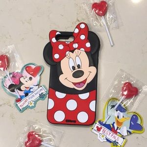 Accessories - Adorable Minnie Mouse iPhone 7+ Silicon Case